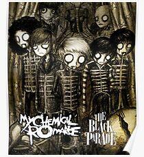 CARTOON BLACK PARADE MCR DAPURA Poster