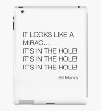 Caddyshack Bill Murray Quote iPad Case/Skin