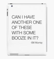 Groundhog Day Bill Murray Quote iPad Case/Skin