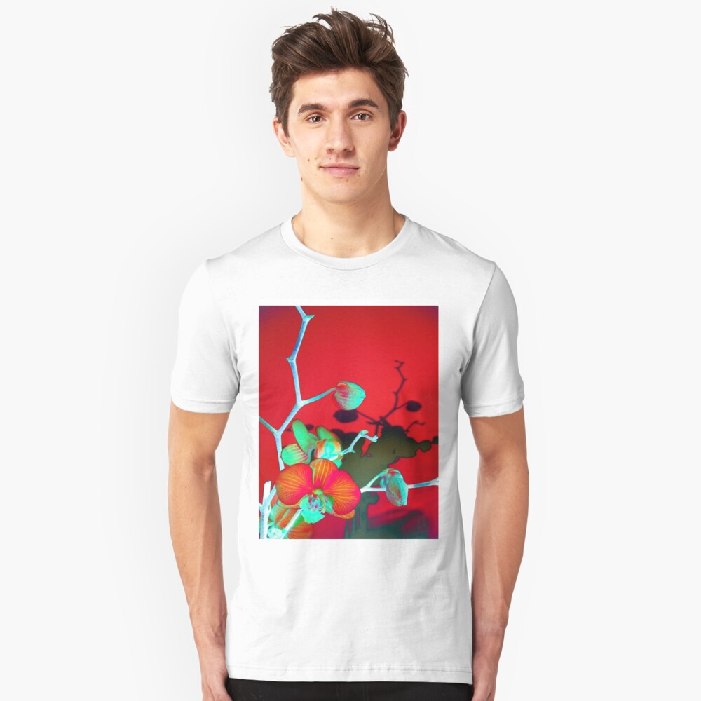 Hot Orchid Night Unisex T-Shirt Front