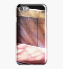 Sun warms a tiny marsh church iPhone Case/Skin
