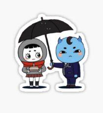 The Goblin and his Bride (Small) Sticker
