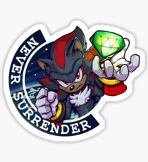 Never Surrender: Shadow Sticker