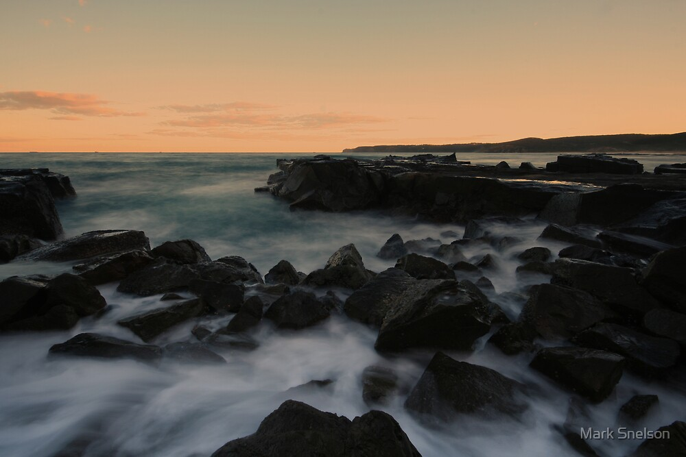 Burwood Rocks 1 by Mark Snelson