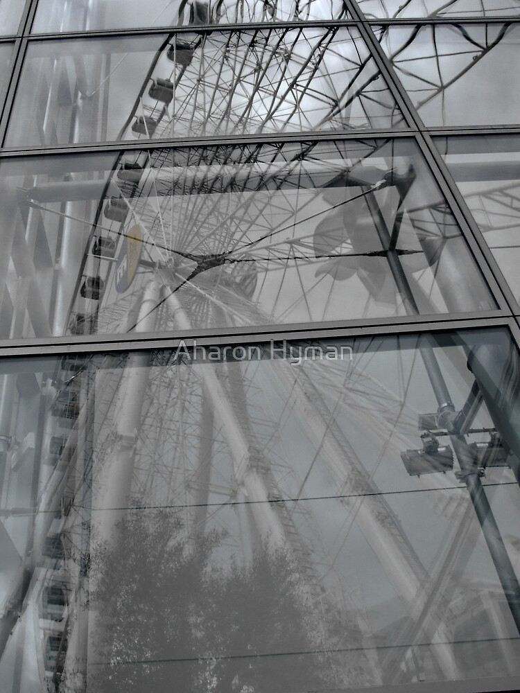 manchester eye reflects by Aharon Hyman