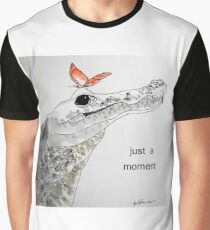 crocodile - just a moment Graphic T-Shirt