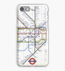 """London Underground """"tube map"""" iPhone Case/Skin"""