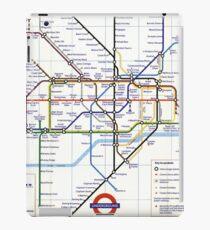 """London Underground """"tube map"""" iPad Case/Skin"""