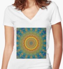 Shine On Us Women's Fitted V-Neck T-Shirt