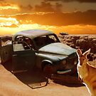 5:15pm - 38°C - Outback by Sandro Rossi