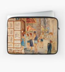 OLD MONTREAL PAINTINGS CANADIAN ART BY CANADIAN ARTIST CAROLE SPANDAU Laptop Sleeve