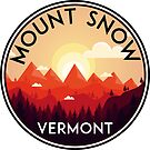 SKI MOUNT SNOW VERMONT SKIING SNOWBOARDING HIKING CLIMBING DOVER 4 by MyHandmadeSigns