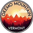SKI OKEMO MOUNTAIN VERMONT SKIING SNOWBOARDING HIKING CLIMBING 3 by MyHandmadeSigns