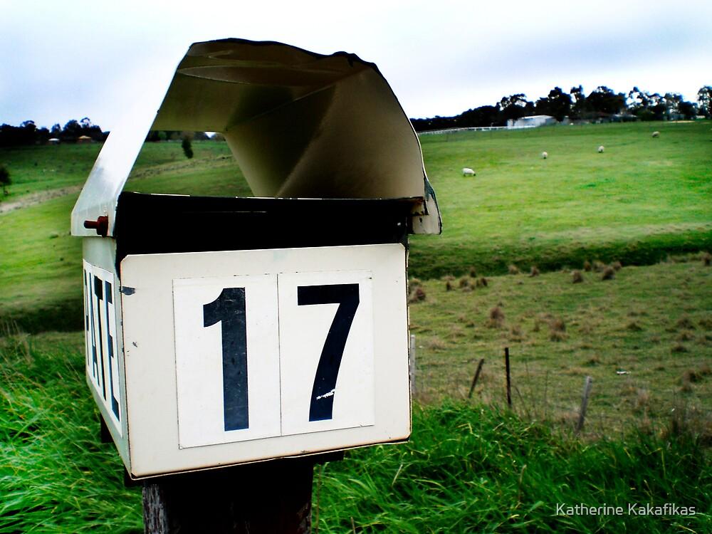 Number 17 by Katherine Kakafikas