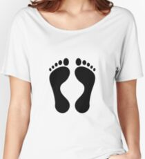 foot Women's Relaxed Fit T-Shirt