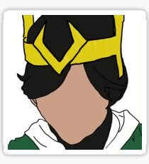 Kid Loki Sticker