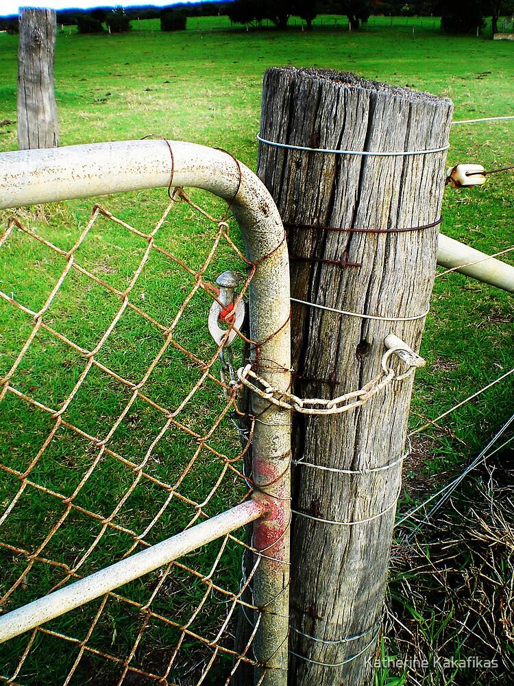 Fence Post by Katherine Kakafikas