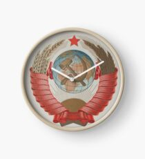 Coat of arms of the Soviet Union Clock