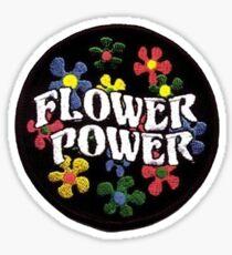 Flower power patch Sticker