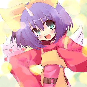 Eiko Carol Anime by FranGSal