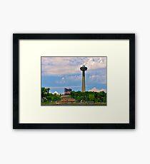 Skylon Tower Framed Print