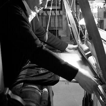 Silk weaving in Lyon by ashleyng
