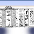 Doorways - A Drawing on a Mug by steeber