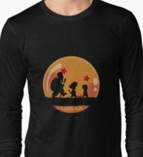 Goku, Krilin y Roshi Long Sleeve T-Shirt