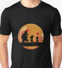 Goku, Krilin y Roshi Unisex T-Shirt