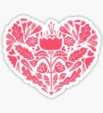 paper heart Sticker