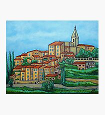 Colours of Crillon-le-Brave, Provence Photographic Print