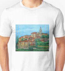 Colours of Crillon-le-Brave, Provence Unisex T-Shirt