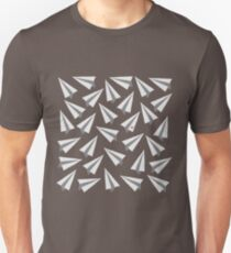 Paperman Paper Airplanes - Minimal Unisex T-Shirt