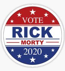 Rick for President Sticker