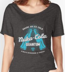 Fallout nuka cola quantum logo, Women's Relaxed Fit T-Shirt