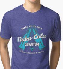 Fallout nuka cola quantum logo, Tri-blend T-Shirt