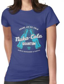 Fallout nuka cola quantum logo, Womens Fitted T-Shirt