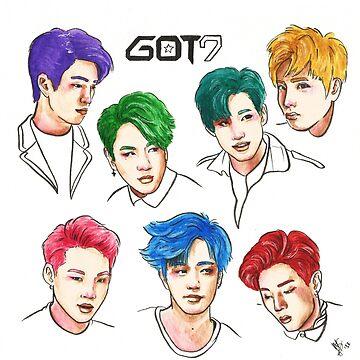 GOT7 Colourful by JudithzzYuko