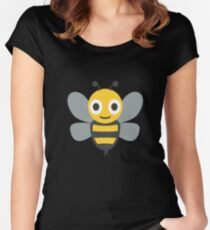 Cute Honey Bee, Wings Women's Fitted Scoop T-Shirt
