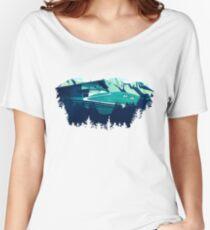 Alpine Hut Women's Relaxed Fit T-Shirt