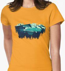 Alpine Hut Womens Fitted T-Shirt