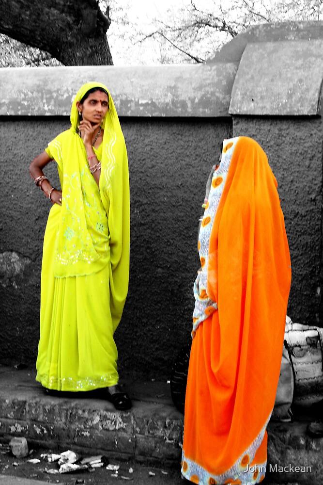 Agra Women by John Mackean