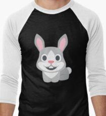 Cute Rabbit, Sweet Bunny Men's Baseball ¾ T-Shirt
