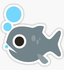 Cute Fish, Wildlife Sticker