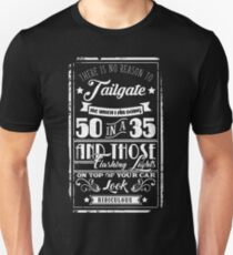 50 in a 35 (WHITE) - Cloud Nine Edition Unisex T-Shirt