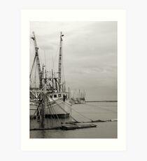 """sunken boat"" Art Print"