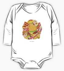 EmojiOne - Food Paradise One Piece - Long Sleeve