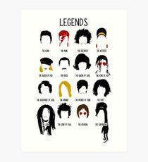 Legends Art Print