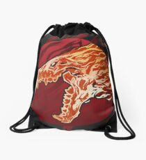 Howling Dawn Drawstring Bag