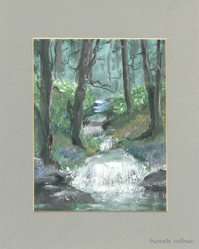 forest serenity by francelle  huffman